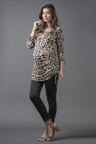 Vestido Blusa Onça | Calça Legging