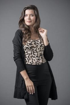 Casaco Mia Pul | Regata Básica Onça| Calça Bale SSA