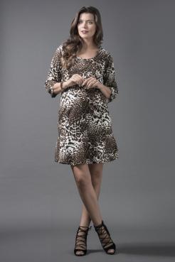 Vestido Joana Onça
